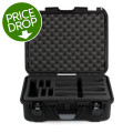 Gator Titan Series Wireless Mic and Accessories Case - Holds 4 MicsTitan Series Wireless Mic and Accessories Case - Holds 4 Mics