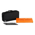 Gator Large Aluminum Pedalboard w/ Carry Bag - OrangeLarge Aluminum Pedalboard w/ Carry Bag - Orange