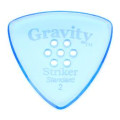 Gravity Picks Striker - Standard, 2mm, Polished, Multi-hole Grip