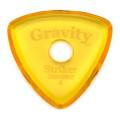 Gravity Picks Striker - Standard, 4mm, Polished, Round Grip Hole