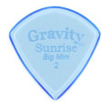 Gravity Picks Sunrise - Big Mini, 2mm, Polished