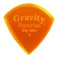 Gravity Picks Sunrise - Big Mini, 3mm, Polished