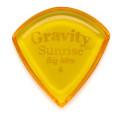 Gravity Picks Sunrise - Big Mini, 4mm, Polished