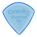 Gravity Picks Sunrise - Mini Size, 2mm, Polished