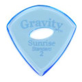 Gravity Picks Sunrise - Standard Size, 2mm, w/Elipse-hole Grip