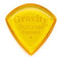Gravity Picks Sunrise - Standard Size, 4mm, Polished