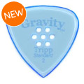 Gravity Picks Tripp - Standard, Multi-hole Grip, 2.0mm