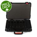 Gator TSA Series Case for 6 Wireless Microphones - w/Battery Storage