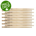 Goodwood US Hickory Drumsticks - 6 Pair - Fusion - Wood TipUS Hickory Drumsticks - 6 Pair - Fusion - Wood Tip
