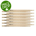 Goodwood US Hickory Drumsticks - 6 Pair - Rock - Wood TipUS Hickory Drumsticks - 6 Pair - Rock - Wood Tip