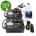 Chauvet DJ Geyser P4 2-Pack w/ Cables & Fluid