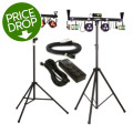 Chauvet DJ GigBAR2 + 4BAR LT USB Lighting Bundle