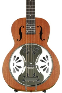 Gretsch G9100 Boxcar Square-neck, Mahogany Body Resonator - Natural
