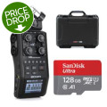 Zoom H6 Handy Recorder (Gator Case and Sandisk SD Card Bundle)H6 Handy Recorder (Gator Case and Sandisk SD Card Bundle)