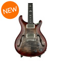 PRS Hollowbody II, 10-Top with Piezo - Charcoal Cherry BurstHollowbody II, 10-Top with Piezo - Charcoal Cherry Burst