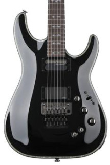 Schecter Hellraiser C-1 with Floyd Rose & Sustainiac - Gloss Black