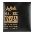 La Bella HRS-71 Nickel 7-string Electric Guitar Strings - 0.009-0.064HRS-71 Nickel 7-string Electric Guitar Strings - 0.009-0.064