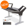 Argosy Halo Sit-Stand Keyboard Workstation - BaseHalo Sit-Stand Keyboard Workstation - Base