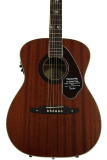 Fender Tim Armstrong Hellcat Acoustic - Natural
