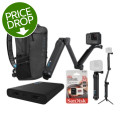 GoPro HERO5 Black 4K Camera Backpack Package