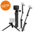 GoPro HERO5 Session and 3-Way Mount Bundle
