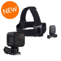 GoPro HERO Session and Head Strap + QuickClip Mount Bundle