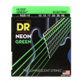 DR Strings NGE-10 Neon Hi-Def Green K3 Coated Medium Electric Guitar Strings