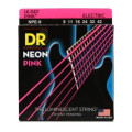 DR Strings NPE-9 Neon Hi-Def Pink K3 Coated Lite Electric Guitar Strings