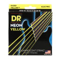 DR Strings NYE-10 Neon Hi-Def Yellow K3 Coated Medium Electric Guitar Strings