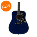 Gibson Acoustic Hummingbird Custom Quilt - Viper BlueHummingbird Custom Quilt - Viper Blue