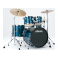 Tama Imperialstar Complete Drum Set - 5 piece - Hairline BlueImperialstar Complete Drum Set - 5 piece - Hairline Blue