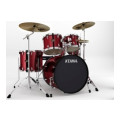 Tama Imperialstar Complete Drum Set - 5-piece - Vintage RedImperialstar Complete Drum Set - 5-piece - Vintage Red