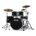 Tama Imperialstar Complete Drum Set With Bonus Pack 5-piece - BlackImperialstar Complete Drum Set With Bonus Pack 5-piece - Black