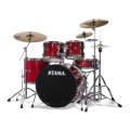 Tama Imperialstar Complete Drum Set with Bonus Pack - 5-piece - Candy Apple MistImperialstar Complete Drum Set with Bonus Pack - 5-piece - Candy Apple Mist