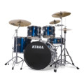 Tama Imperialstar Complete Drum Set with Bonus Pack - 5-piece - Midnight BlueImperialstar Complete Drum Set with Bonus Pack - 5-piece - Midnight Blue