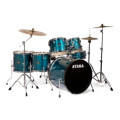 Tama Imperialstar Complete Drum Set - 6 piece  - Hairline BlueImperialstar Complete Drum Set - 6 piece  - Hairline Blue