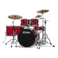Tama Imperialstar Complete Drum Set with Bonus Pack - 6-piece - Candy Apple Mist
