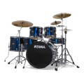 Tama Imperialstar Complete Drum Set with Bonus Pack - 6-piece - Midnight Blue