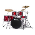 Tama Imperialstar Complete Drum Set with Bonus Pack - 6-piece - Vintage RedImperialstar Complete Drum Set with Bonus Pack - 6-piece - Vintage Red