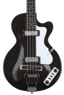 Hofner Ignition Club Bass - Translucent Black