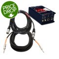 Radial J48 Direct Box Package w/Mogami CorePlus Cables