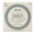 D'Addario J60 Nickel Wound Banjo Strings - .009-.020 Light 5-StrJ60 Nickel Wound Banjo Strings - .009-.020 Light 5-Str