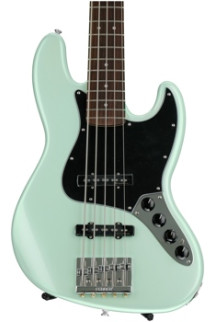 Fender Deluxe Active J Bass V - Surf Pearl with Rosewood Fingerboard