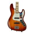 Fender American Elite Jazz Bass - Tobacco Sunburst, Maple FingerboardAmerican Elite Jazz Bass - Tobacco Sunburst, Maple Fingerboard