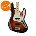 Fender American Professional Jazz Bass - 3-color Sunburst with Maple FingerboardAmerican Professional Jazz Bass - 3-color Sunburst with Maple Fingerboard