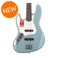 Fender American Professional Jazz Bass, Left-handed - Sonic Gray with Rosewood FingerboardAmerican Professional Jazz Bass, Left-handed - Sonic Gray with Rosewood Fingerboard