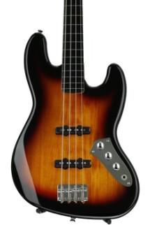 Squier Vintage Modified Jazz Bass - 3-Color Sunburst, Fretless