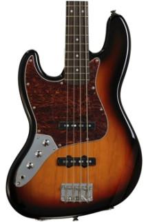 Squier Vintage Modified Jazz Bass - 3-Color Sunburst, Left Hand