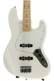 Fender Standard Jazz Bass - Arctic White with Maple Fingerboard