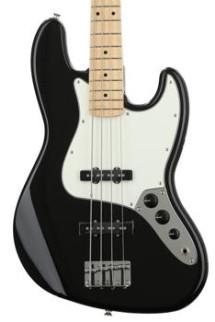 Fender Standard Jazz Bass - Black with Maple Fingerboard